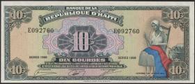 Haiti P.247 10 Gourdes 1988 (1)