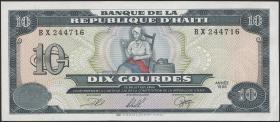 Haiti P.256 10 Gourdes 1991-99 (1)