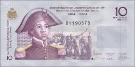 Haiti P.272b 10 Gourdes 2006 (1)