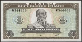 Haiti P.253a 1 Gourde 1989 (1)