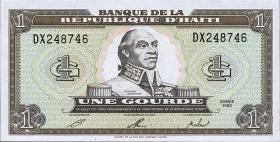 Haiti P.259 1 Gourde 1992-93 (1)
