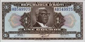 Haiti P.210 1 Gourde L.1953 (1)