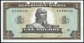 Haiti P.245 1 Gourde 1987 (1)