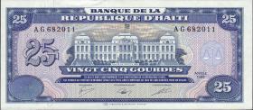 Haiti P.248 25 Gourdes 1988 (1-)