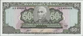Haiti P.257 50 Gourdes 1991 (1)