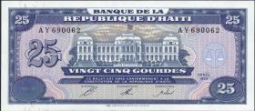 Haiti P.262 25 Gourdes 1993 (1)