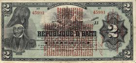 Haiti P.141 2 Gourdes L. 1919 (3)
