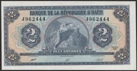 Haiti P.254 2 Gourdes 1990 (1)