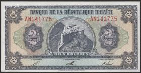 Haiti P.260 2 Gourdes 1992 (1)