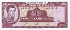 Haiti P.264 500 Gourdes 1993 (1)