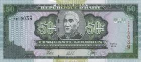 Haiti P.267a 50 Gourdes 2000 (1)