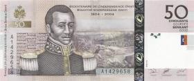 Haiti P.274a 50 Gourdes 2004 (1)