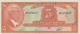 Haiti P.232 5 Gourdes L. 1979 (1980-82) (1)