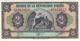 Haiti P.245A 2 Gourdes 1987 (1)