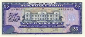Haiti P.248 25 Gourdes 1988 (1)