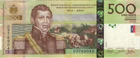 Haiti P.277e 500 Gourdes 2014 (1)