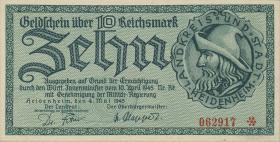 Heidenheim 10 Reichsmark 4.5.1945 (1)