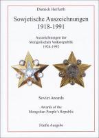 Herfurth: Sowjetische Auszeichnungen Auflage 5 - 2011