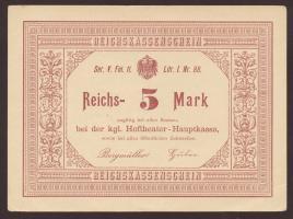 5 Mark kgl. Hoftheater (um 1880) (1-)