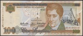 Honduras P.77g 100 Lempiras 2004 (1)