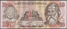 Honduras P.86 10 Lempiras 2004 (1)