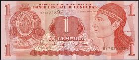 Honduras P.79 1 Lempira 1996 (1)