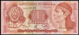 Honduras P.79A 1 Lempira 1997 (1)