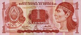 Honduras P.84a 1 Lempiras 2000 (1)