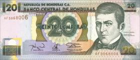 Honduras P.73c 20 Lempiras 1994 (1)