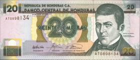Honduras P.87b 20 Lempiras 2003 (1)