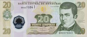 Honduras P.95 20 Lempiras 2008 (1)