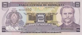Honduras P.80Ad 2 Lempiras 2003 (1)