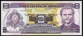 Honduras P.80Ae 2 Lempiras 2004 (1)