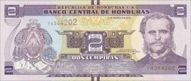 Honduras P.neu 2 Lempiras 2012 (1)