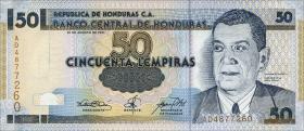 Honduras P.88 50 Lempiras 2001 (1)