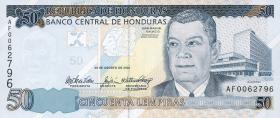 Honduras P.94a 50 Lempiras 2004 (1)