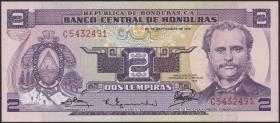 Honduras P.61 2 Lempiras 1976 (1)