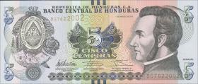Honduras P.neu 5 Lempiras 2012 (1)