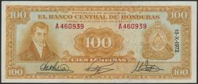 Honduras P.49d 100 Lempiras 1972 (2)