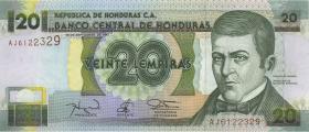 Honduras P.73e 20 Lempiras 1997 (1)