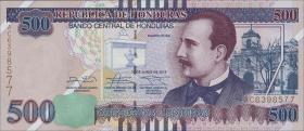 Honduras P.103b 500 Lempiras 2014 (1)