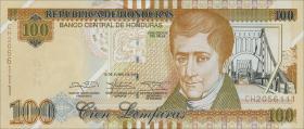 Honduras P.102b 100 Lempiras 2014 (1)