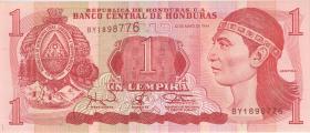 Honduras P.76 1 Lempira 1994 (1)