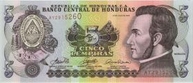 Honduras P.91 5 Lempiras 2006 (1)