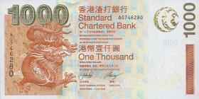 Hongkong, Standard Chartered Bank P.295 1000 Dollars 2003