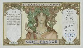 Neu Kaledonien / New Caledonia P.42e 100 Francs (1937-67) (1)