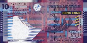 Hongkong, Government P.400 10 Dollars 2002 (1)