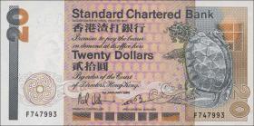 Hongkong, Standard Chartered Bank P.279a 20 Dollars 1985 (1)