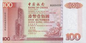 Hongkong, Bank of China P.331f 100 Dollars 2000 (1)