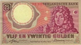 Niederlande / Netherlands P.087 25 Gulden 1955 (2)